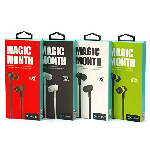 Celebrat® Magic Month D2 In-Ear headset készlet (4 darab)